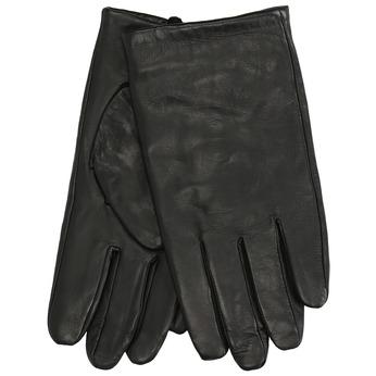 Kožené černé rukavice bata, černá, 904-6130 - 13
