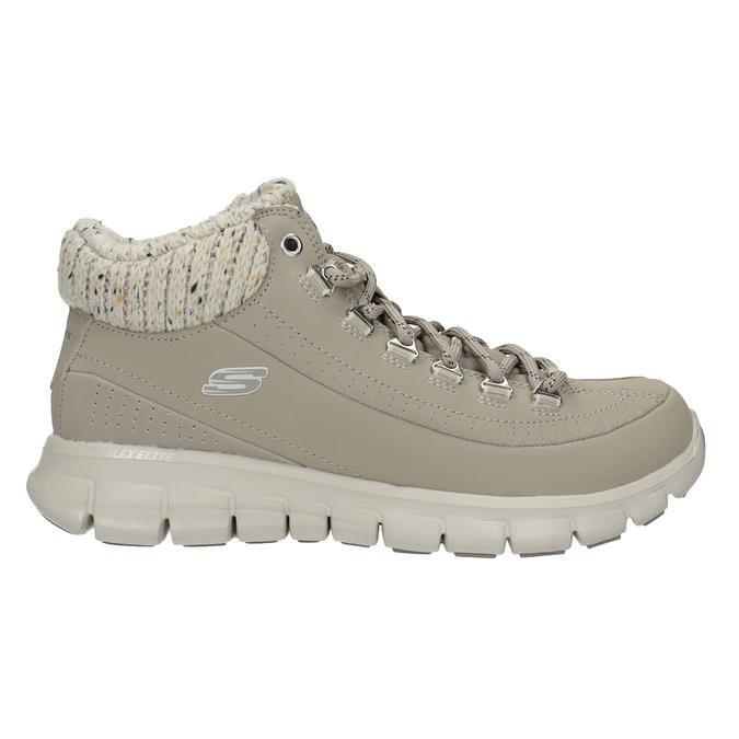 Dámská kotníčková obuv skechers, šedá, 501-2314 - 16