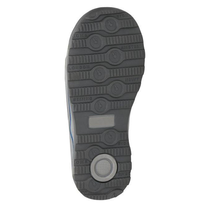 Dětská zimní obuv mini-b, šedá, 291-2627 - 17