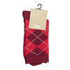 Dámské ponožky s anglickým vzorem bata, červená, 919-5301 - 13