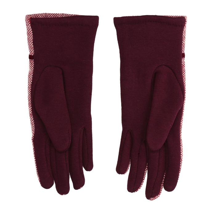 Dámské rukavice s bambulkou bata, červená, 909-5614 - 16