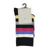 Pruhované ponožky bata, šedá, 919-2660 - 13