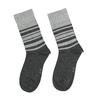 Pánské ponožky s pruhy bata, černá, 919-6640 - 26