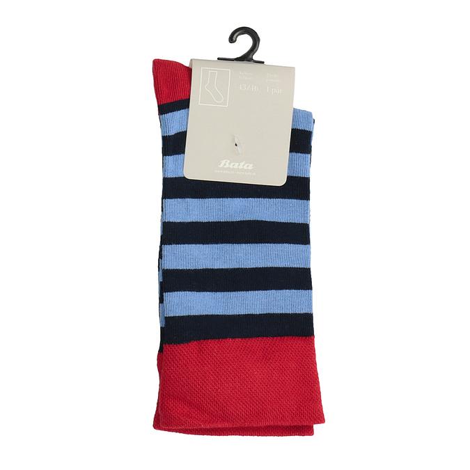 Pánské pruhované ponožky bata, 919-9650 - 13