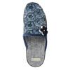 Dámská domácí obuv bata, modrá, 579-9623 - 26
