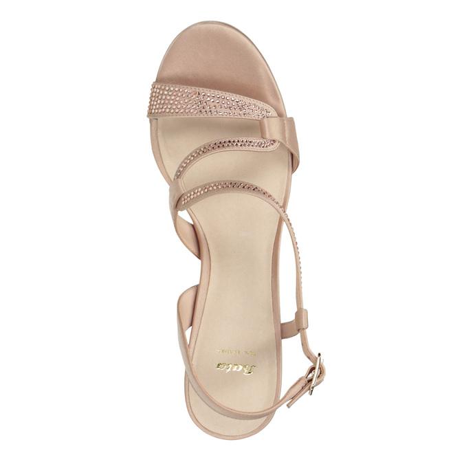 Dámské sandály s kamínky bata, 729-8611 - 15