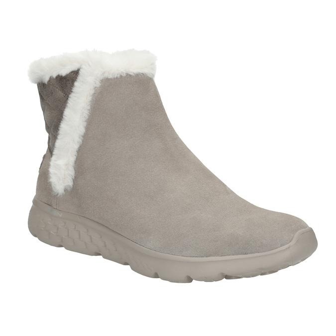 Dámská obuv z broušené kůže skechers, 503-3326 - 13