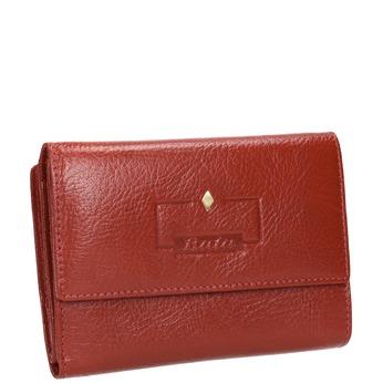 Kožená dámská peněženka bata, červená, 944-5189 - 13