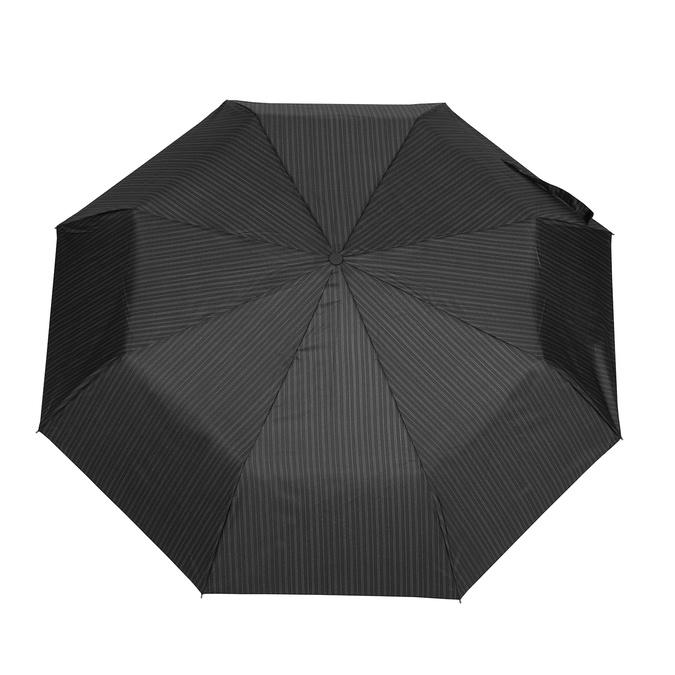 Černý rozkládací deštník bata, černá, 909-6609 - 26