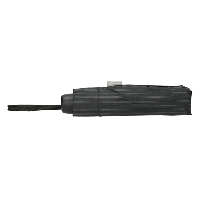 Černý rozkládací deštník bata, černá, 909-6609 - 16