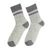 Pánské ponožky z přírodní vlny matex, šedá, 919-2390 - 26