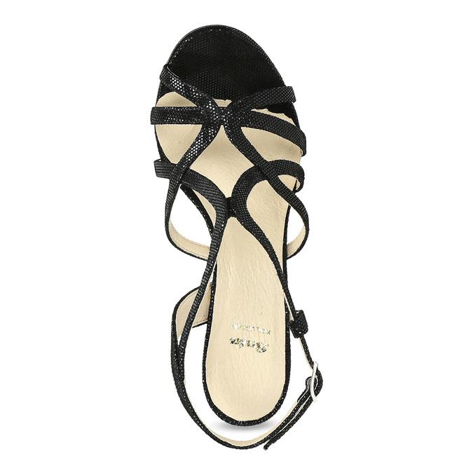 Dámské společenské sandály bata, černá, 726-6648 - 17