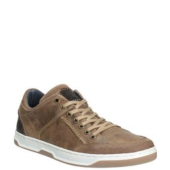 Kožené pánské tenisky bata, 846-8927 - 13