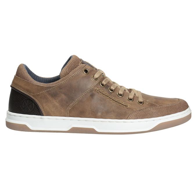 Kožené pánské tenisky bata, 846-8927 - 26