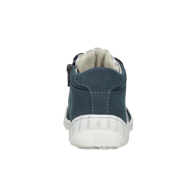 Dětská kotníčková obuv se vzorem bubblegummers, modrá, 111-9626 - 16