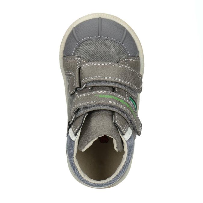 Kotníčková dětská obuv bubblegummers, šedá, 111-2614 - 15