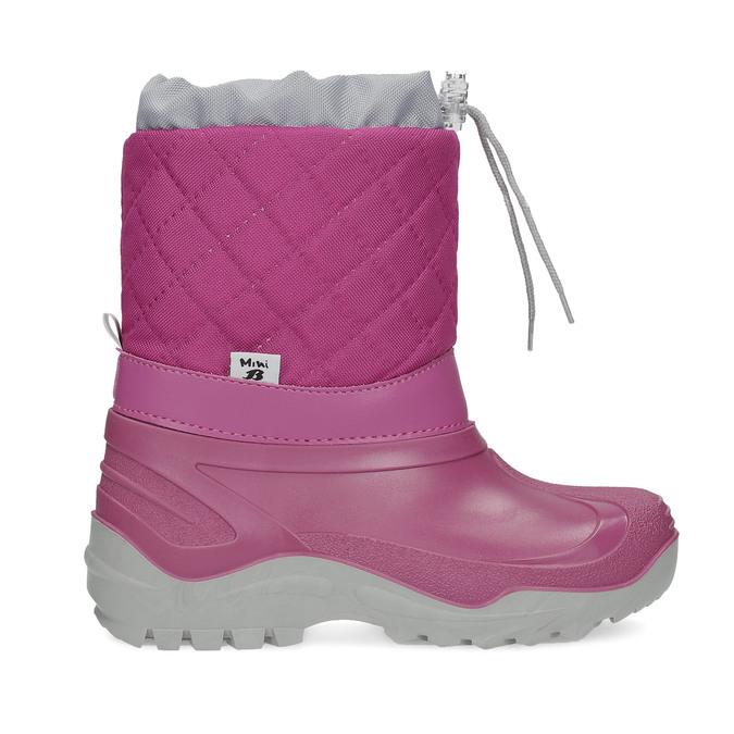 Dívčí růžové sněhule mini-b, 392-5201 - 19