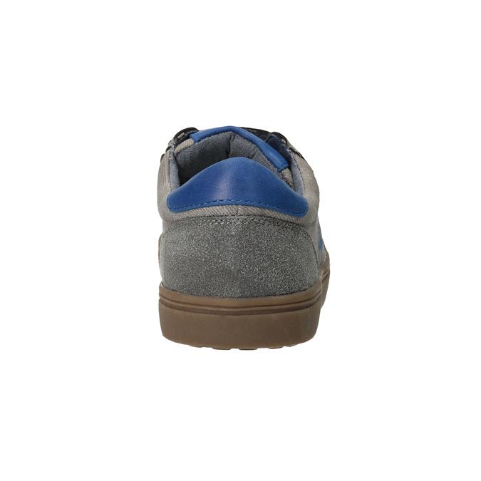 Dětské ležérní tenisky s potiskem mini-b, šedá, 411-2608 - 16