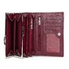 Kožená dámská peněženka bata, červená, 944-5205 - 15