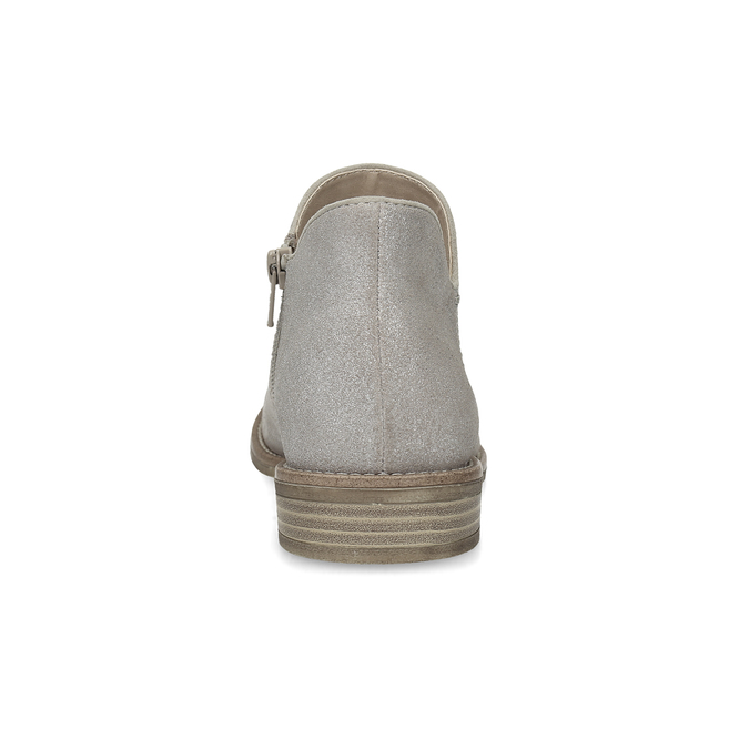 Kotníčkové dámské kozačky bata, šedá, 596-2685 - 15