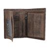 Hnědá kožená peněženka pánská bata, hnědá, 944-4208 - 15