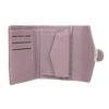 Růžová peněženka s kovovým detailem bata, 941-9213 - 15