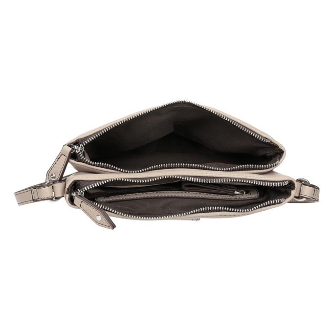 Dámská Crossbody kabelka s přezkou bata, šedá, 961-2683 - 15