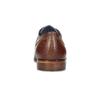 Pánské kožené polobotky se strukturou bata, hnědá, 826-3825 - 15