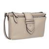 Dámská Crossbody kabelka s přezkou bata, šedá, 961-2683 - 13