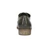 Dámské polobotky s perforací bata, šedá, 521-2609 - 15