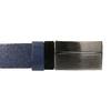 Modrý kožený opasek pánský bata, 954-9208 - 26
