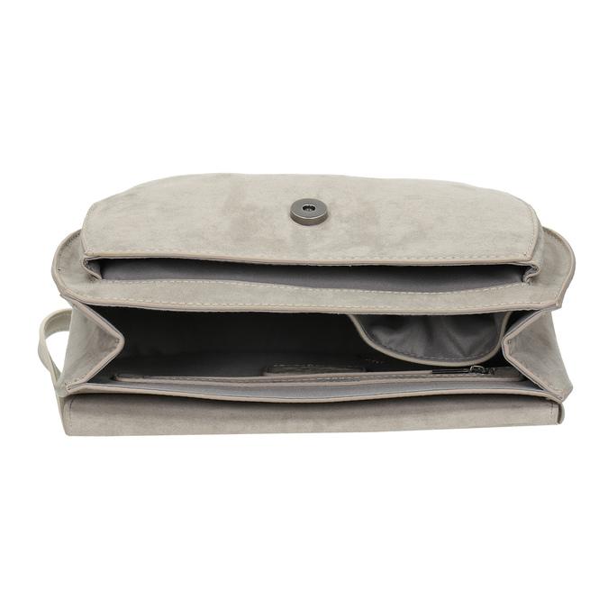 Crossbody kabelka s výšivkou bata, 969-3686 - 15