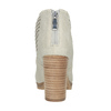 Kotníčkové kozačky s perforací bata, šedá, 791-2615 - 16