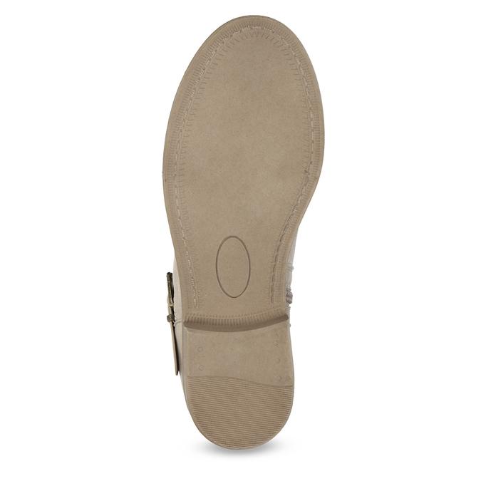 Dámské kozačky s krajkou bata, šedá, 591-2628 - 18