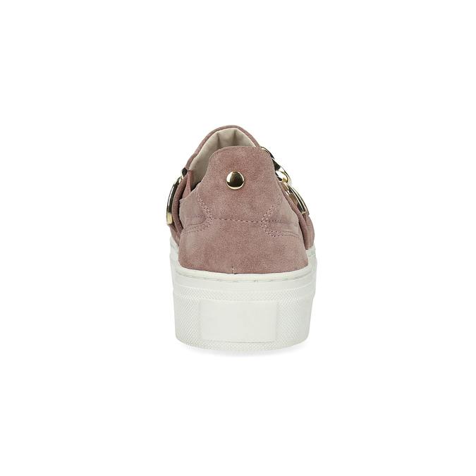 Kožená dámská Slip-on obuv bata, 513-5600 - 15