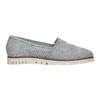 Stříbrné kožené Slip-on boty flexible, 536-1604 - 16