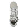 Stříbrné dívčí tenisky s kamínky mini-b, stříbrná, 329-2301 - 17