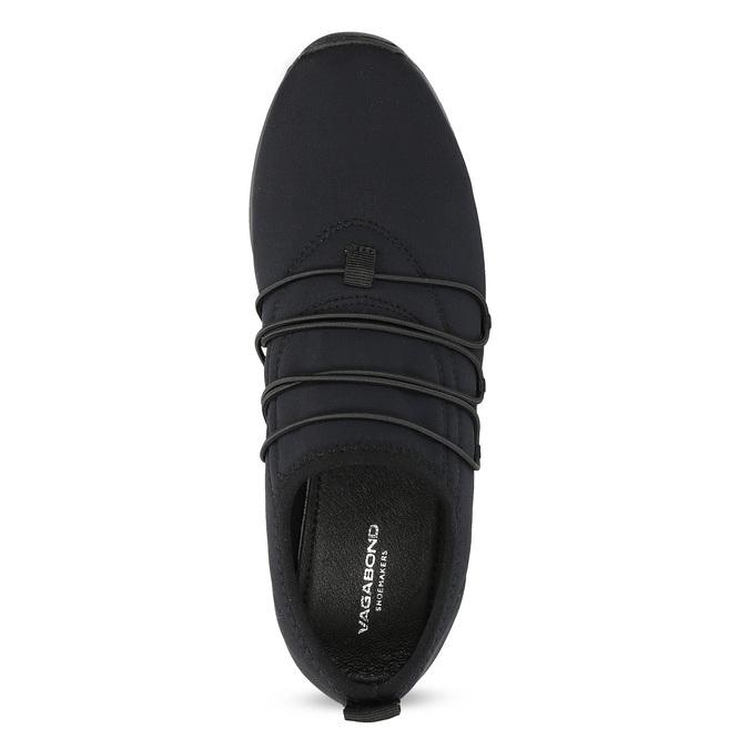 Slip-on tenisky s gumičkami vagabond, černá, 619-6132 - 17