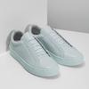 Modré kožené tenisky vagabond, modrá, 624-1018 - 26