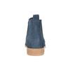 Modré kožené Chelsea kozačky bata, 593-9614 - 15
