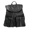 Černý dámský batoh bata, černá, 961-6833 - 26