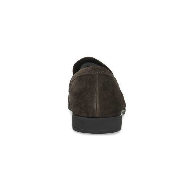 Kožené mokasíny ve stylu Penny Loafers vagabond, hnědá, 813-4053 - 15