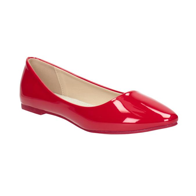 4129deb3177 Baťa Červené lakované baleríny - Všechny boty