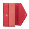 Dámská kožená peněženka bata, červená, 944-5211 - 15