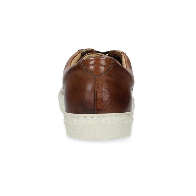 Kožené pánské tenisky bata, hnědá, 846-4648 - 15