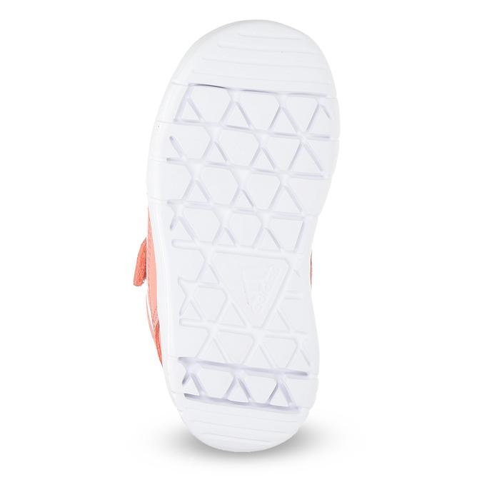 Dívčí růžové tenisky na suché zipy adidas, růžová, 101-5151 - 18