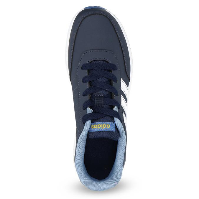 Modré dětské tenisky adidas, modrá, 401-9181 - 17