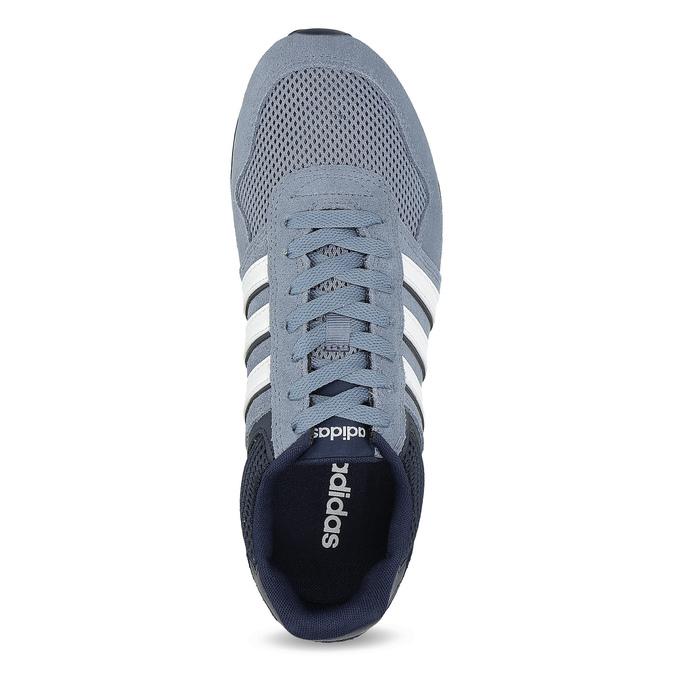 Pánské tenisky z broušené kůže adidas, modrá, 803-2293 - 17