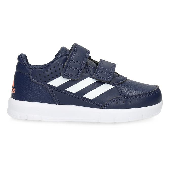 Modré tenisky na suché zipy adidas, modrá, 101-9151 - 19