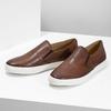 Pánská kožená Slip-on obuv bata, hnědá, 836-4601 - 16